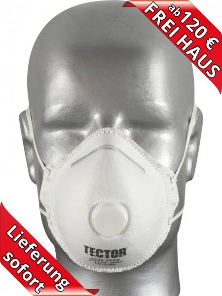 Feinstaubmaske Atemschutzmaske FFP2 Maske mit Ventil Tector 4233