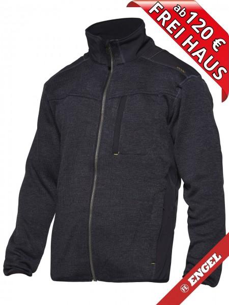Strickjacke Arbeitsjacke Jacke TECH ZONE WORKZONE 0810-125 navy blau