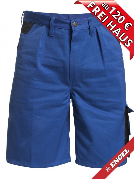 Shorts kurze Arbeitshose Enterprise zweifarbig FE ENGEL 6600-780 azurblau