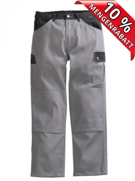 Bundhose Arbeitshose Top Comfort Stretch Pionier 2455 grau/schwarz