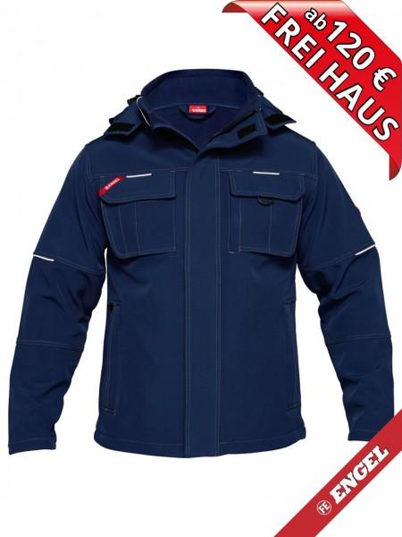 Softshell Jacke WORKWEAR COMBAT FE-ENGEL 1260-229 marine blau