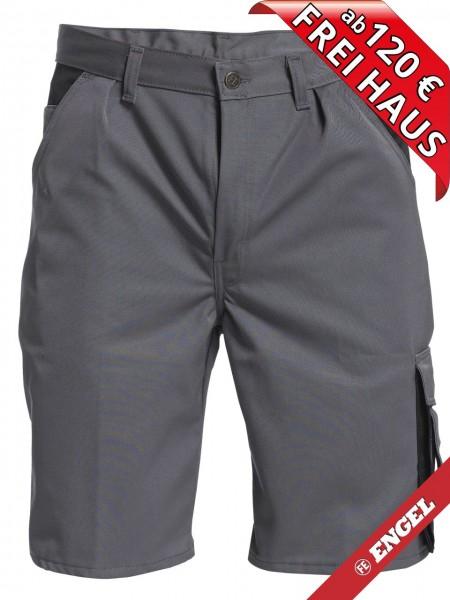 Shorts kurze Arbeitshose Hose Enterprise zweifarbig FE ENGEL 6600-780 grau