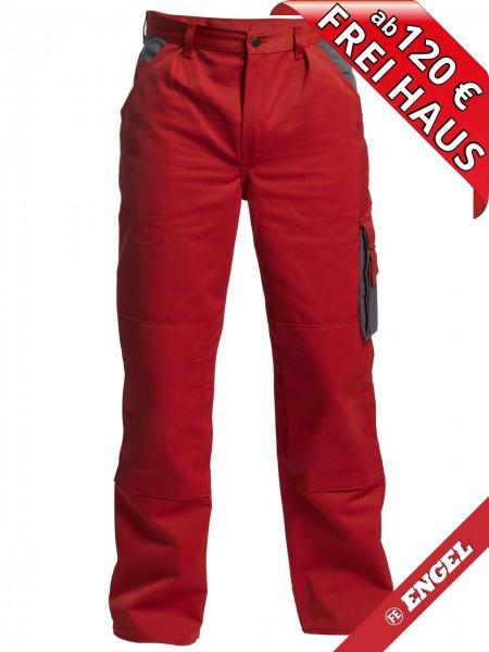 Bundhose Arbeitshose Enterprise zweifarbig FE ENGEL 2600-785 rot
