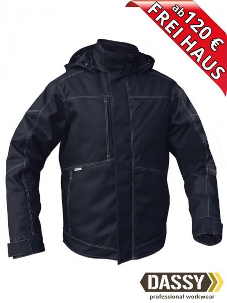 Winterjacke Pilotjacke Jacke DASSY® MINSK 300411 wasserdicht dunkelblau