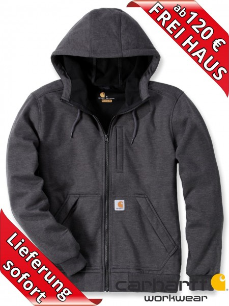 Carhartt Kapuzen Wind Fighter Hooded Sweat Shirt Jacke 101759 Carbon