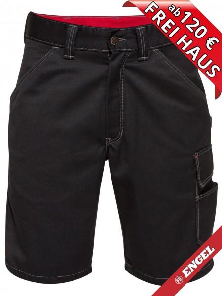 Shorts kurze Handwerkerhose Arbeitshose COMBAT FE-ENGEL 6760-630 schwarz