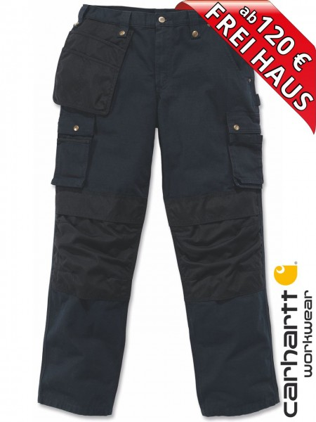 Carhartt Multi Pocket Ripstop Arbeitshose Handwerkerhose 100233 schwarz