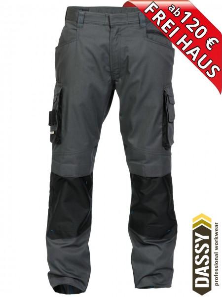 Arbeitshose Bundhose DASSY® Nova Kniepolster D-FX 200846 anthrazit