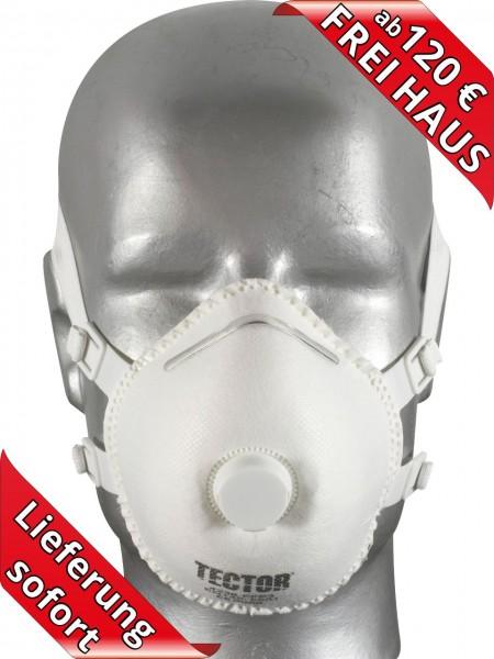 Feinstaubmaske Atemschutzmaske FFP3 Maske mit Ventil Tector 4236