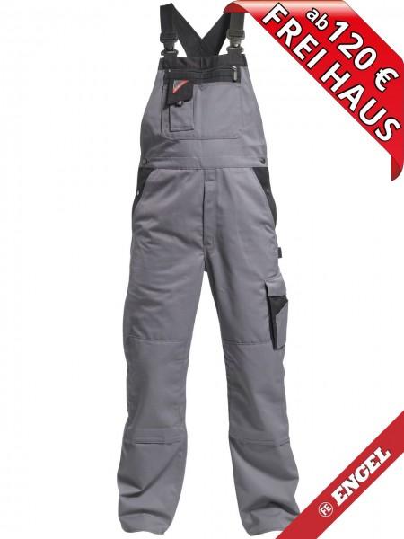 Latzhose Arbeitslatzhose Enterprise zweifarbig FE ENGEL 3600-785 grau