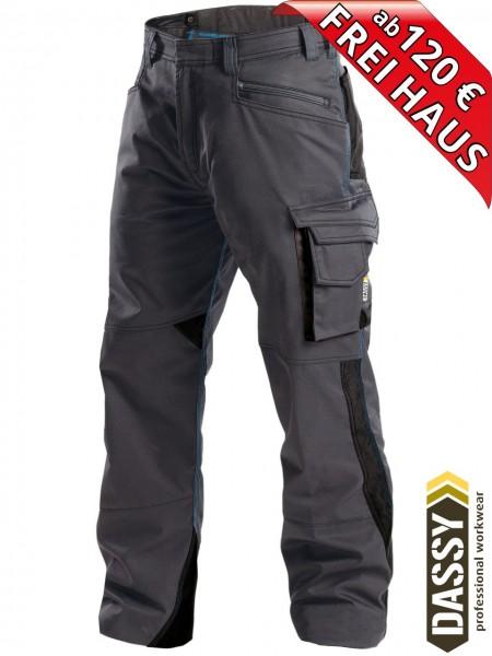 Arbeitshose Service Bundhose DASSY® Spectrum D-FX 200892 anthrazit