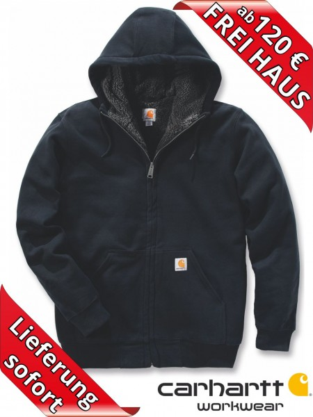 Carhartt Kapuzenjacke Fleece-Futter Hooded Sweat Shirt 100072 schwarz