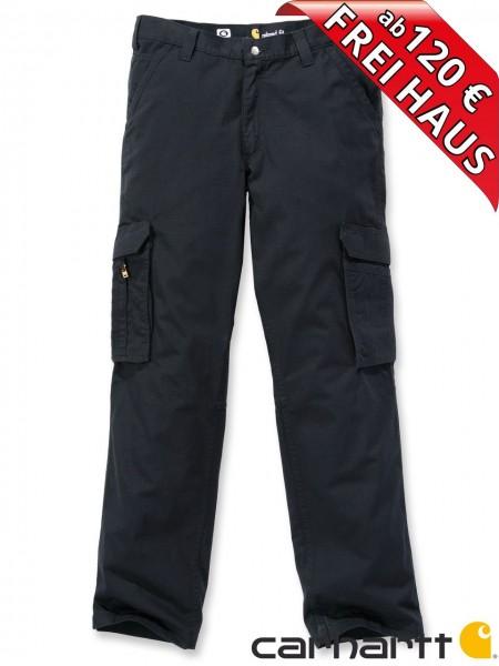Carhartt Force® Tappen Cargo Pant leichte Ripstopp Sommer Hose schwarz