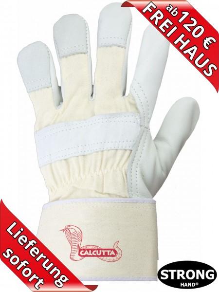 Winter Leder Arbeitshandschuhe CALCUTTA Stronghand 0209 Rindvollleder