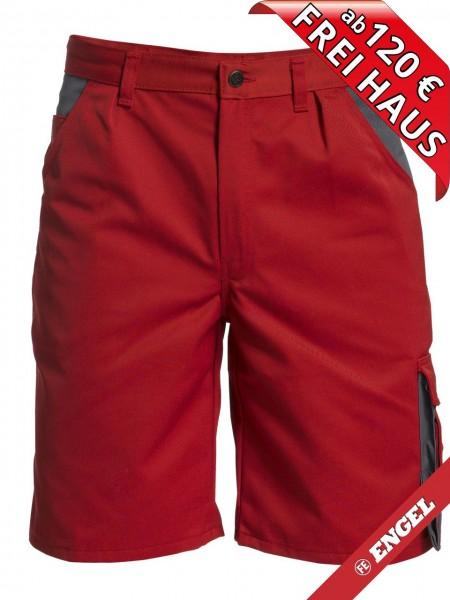 Shorts kurze Arbeitshose Hose Enterprise zweifarbig FE ENGEL 6600-780 rot