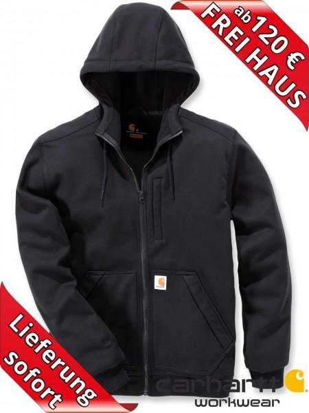 Carhartt Kapuzen Wind Fighter Hooded Sweat Shirt Jacke 101759 schwarz