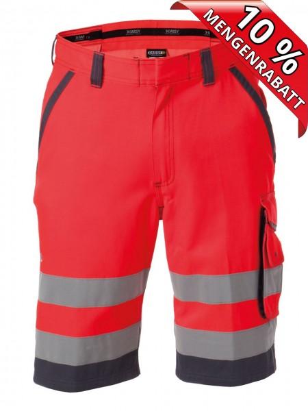 Warnschutz Short kurze Arbeitshose LUCCA DASSY 250059 rot/grau