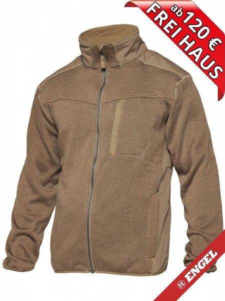 Strickjacke Arbeitsjacke Jacke TECH ZONE WORKZONE 0810-125 beige