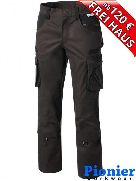 Damen Bundhose Arbeitshose braun / schwarz TOOLS Pionier Workwear 5743