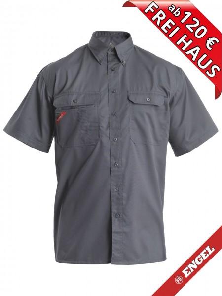 Workerhemd Arbeitshemd kurzarm Hemd HANKS FE Engel 183-810 grau