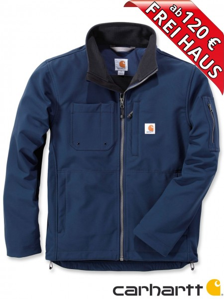 Carhartt Rough Cut Jacket Stretch Nylon Jacke Softshelljacke 102703 blau