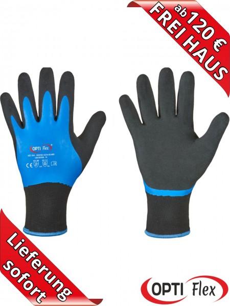 OPTIFlex Winter Aqua Guard Latex Kälte Arbeitshandschuhe 0241