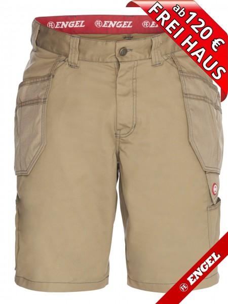 Shorts kurze Arbeitshose Holstertasche COMBAT FE-ENGEL 6761-630 beige khaki