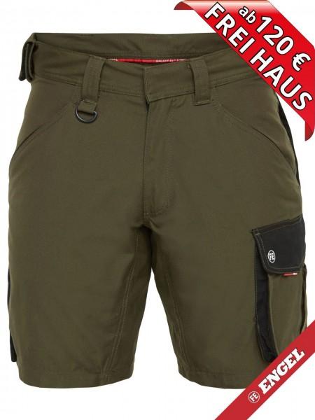 Shorts kurze Arbeitshose Bundhose GALAXY 6810-254 FE ENGEL grün