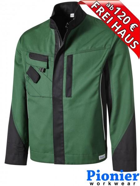 Bundjacke Arbeitsjacke grün/schwarz TOOLS PLUS Pionier Workwear 5247