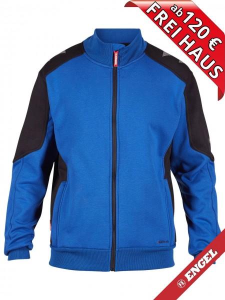 Sweat Jacke Cardigan Sweatshirtjacke GALAXY 8830-233 FE ENGEL royalblau