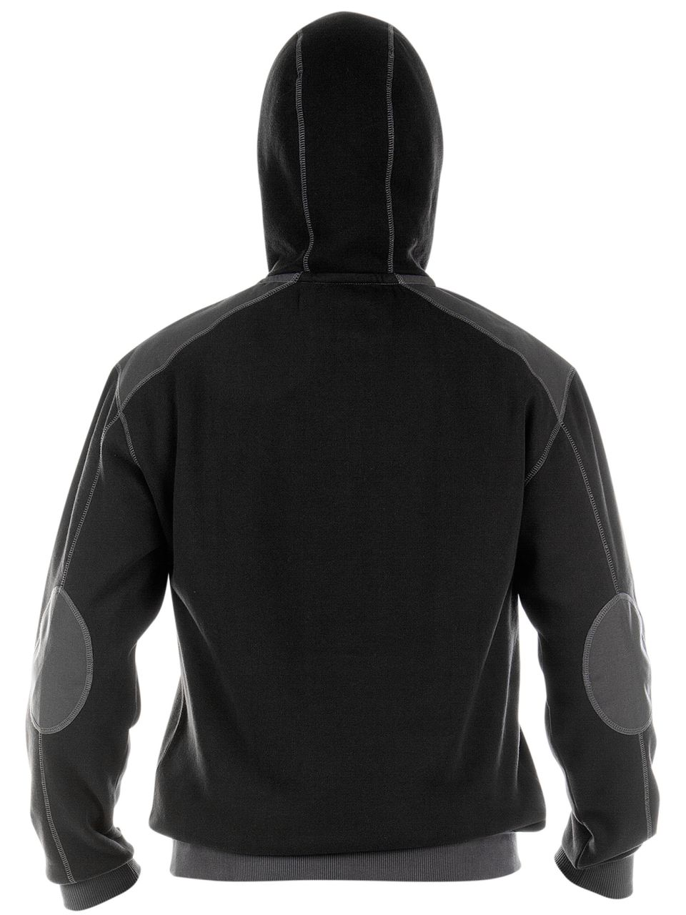 DASSY INDY Hoody Sweatshirt Kapuzensweatshirt schwarz//anthrazit