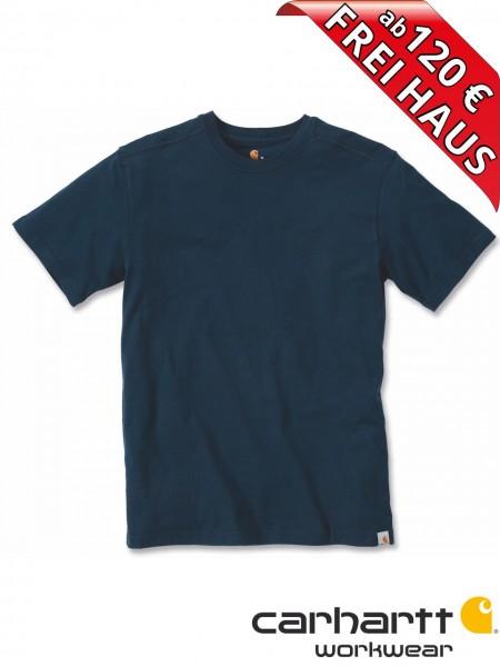 Carhartt T-Shirt Maddock Short Sleeve Workwear Shirt 101124 navy blau
