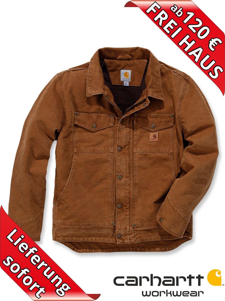 Carhartt Berwick Jacket Herren Winter Jacke 101230 braun