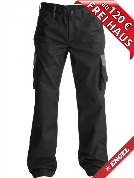 Servicehose Arbeitshose Light zweifarbig FE ENGEL 2280-745 schwarz