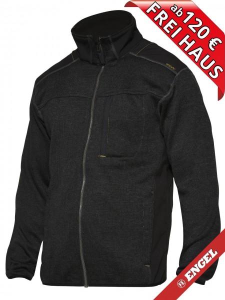 Strickjacke Arbeitsjacke Jacke TECH ZONE WORKZONE 0810-125 schwarz