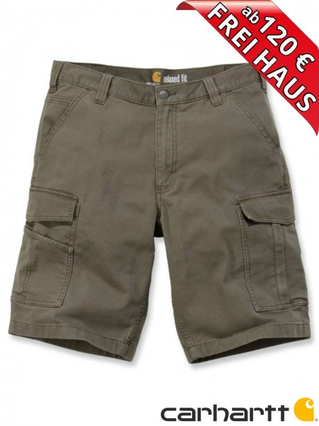 Carhartt Rigby Rugged Cargo Short kurze Stretch Hose 103542 tarmac