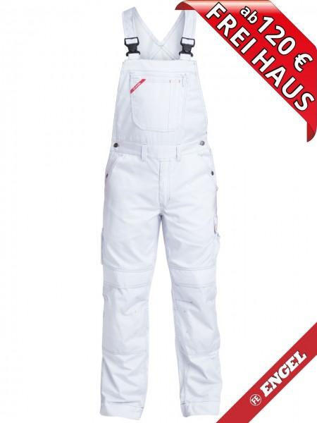 Maler Latzhose 100 % Baumwolle COMBAT FE ENGEL 3760-575 weiss