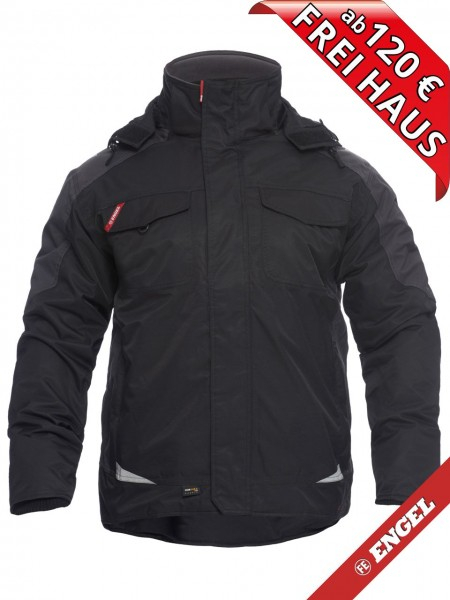 Winterjacke wasserdicht GALAXY 1410-354 FE ENGEL schwarz / anthrazit