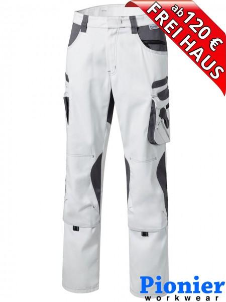 Maler Bundhose Arbeitshose weiss / grau TOOLS Pionier Workwear 95344 Hose