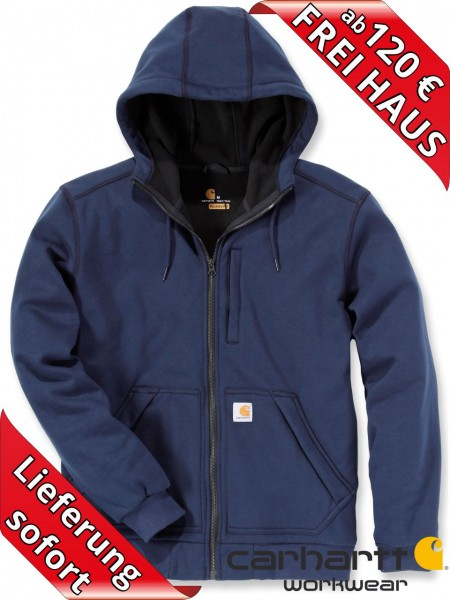 Carhartt Kapuzen Wind Fighter Hooded Sweat Shirt Jacke 101759 Navy