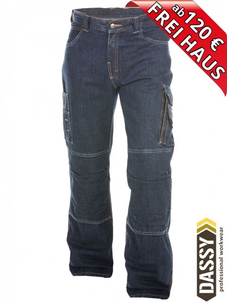 Stretch Jeans Arbeitshose KNOXVILLE DASSY 200691