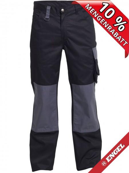 Bundhose Arbeitshose Light zweifarbig FE ENGEL 2270-745 schwarz/grau