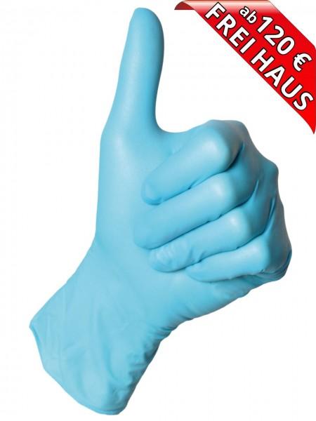 Nitril Einweghandschuhe puderfrei SEMPERGUARD NITRIL XPERT 0445 blau