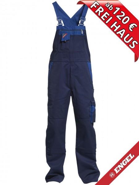 Latzhose Arbeitslatzhose Enterprise zweifarbig FE ENGEL 3600-785 blau