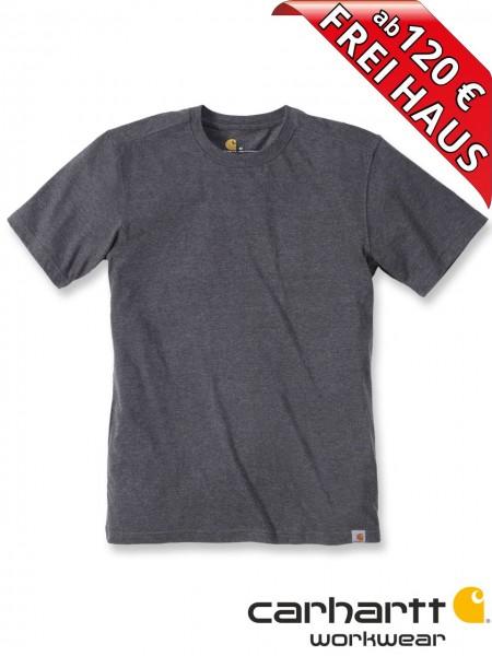 Carhartt T-Shirt Maddock Short Sleeve Workwear Shirt 101124 anthrazit