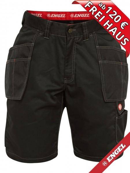 Shorts kurze Arbeitshose Holstertasche COMBAT FE-ENGEL 6761-630 schwarz