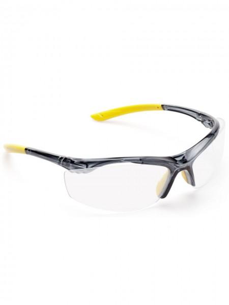 Schutzbrille sportliche Bügelbrille Scheibe klar UNICO 2800