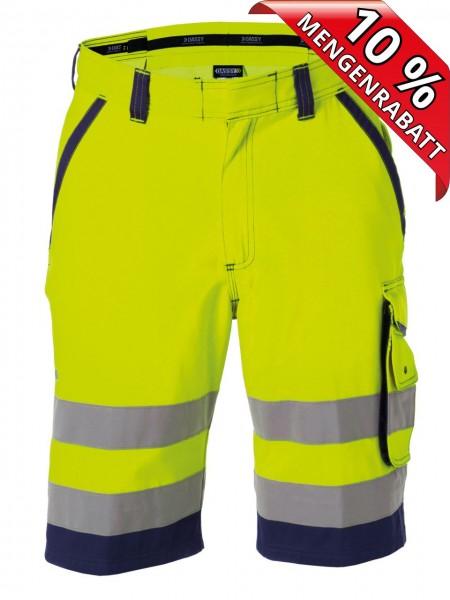Warnschutz Short kurze Arbeitshose LUCCA DASSY 250059 gelb/blau