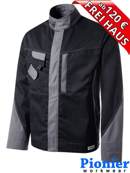 Bundjacke Arbeitsjacke schwarz/grau TOOLS Pionier Workwear 5240