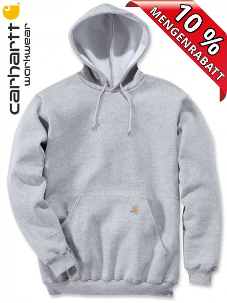 Carhartt Kapuzenpulli Hooded Sweat Shirt Hoody K121 hellgrau